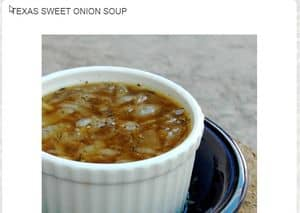 screenshot www.threedietsonedinner.com french onion soup