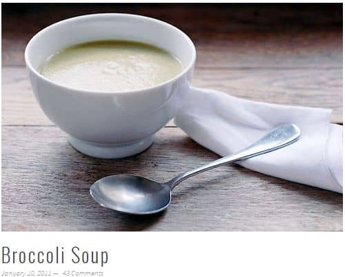 Broccoli Soup from Elana's Pantry - Paleo Vegan, Simple (few ingredients), No Broth Required