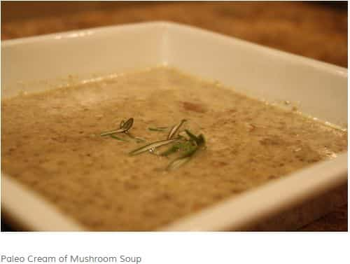Creamy Mushroom Soup from Crushing Glass – Curry, Vegan Option, Creamy
