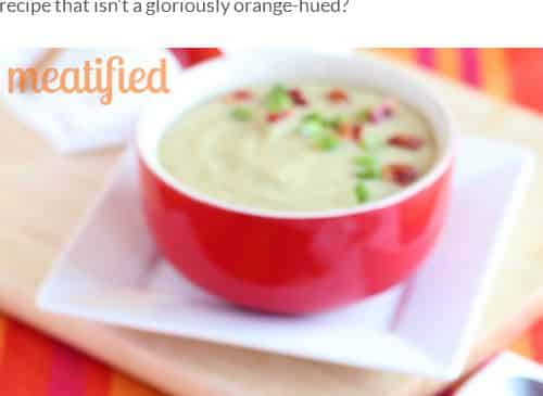 Leek and Sweet Potato Soup from Meatified - AIP, Sweet Potato, Whole 30