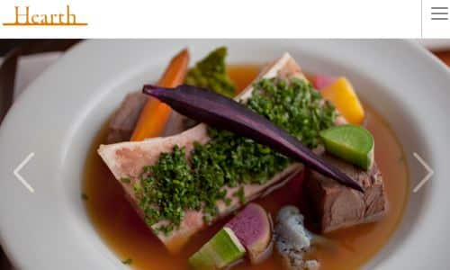Screenshot from the Hearth NYC Home page - Hearth is a NY restaurant specializing in farm to table cuisine. It has been a staple of the village in NYC for many years. Interestingly, over the last several years the executive chef and owner has transitioned to a quasi paleo diet for his own health and well being over the years. This has started to have a profound influence on the food, first with his popular Brodo broth bar and now most recently with the menu of the restaurant at Hearth. It is definitely an interesting and exciting restaurant to watch as it transitions over to a more of a fine dining paleo restaurant from it's earlier incarnation. For this reason, hearth is definitely worth considering on any paleo restuarant nyc list.