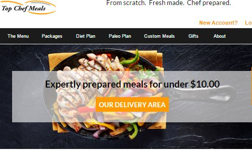 Screenshot of the Top Chef Meals Site - Top Chef Meals is a paleo nyc food delivery company offering a line of paleo, high protien meal plans. If you are looking out for paleo food nyc options, they should definitely be on your list. Although based in westchester, their paleo diet delivery nyc option include delivery straight to your home or office by company staff, avoiding the hastle of fedex and UPS deliveries.