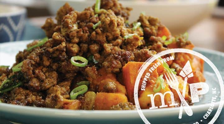 modPALEO Logo - modPALEO is a Charlotte NC based paleo food delivery service offering meal deliveries throughout the United States
