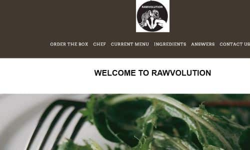 Rawvolution, above and beyond offering raw vegan meal delivery Los Angeles options, also offers Paleo plans. They are a great option for Paleo vegetarian meal delivery Los Angeles services, with their grain free, raw and healthy plans based on cauliflower rice, coconut aminos, vinegar and fresh organic vegetables via their box delivery option.