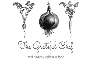 Screenshot of the Grateful Chef Home Page in Des Moines, a local Whole 30 Paleo Meal Delivery option downtown in Des Moines Iowa.