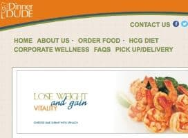 The Dinner Dude, delivers fitness and weight loss related meals to people who live in and around Houston Texas