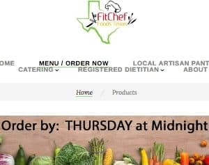 FitChef offers helthful delivery meals, including Paleo meals, to residents of the Houston area, specifically southern Houston