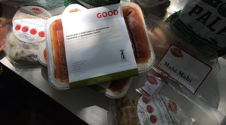 Photo of Whole 30 approved Pre-made Paleo meals, Petes Paleo meal pouches and The Good Kitchen vegetarian meals. If you are looking into whole30 meal delivery, this article should give a good rundown of your choices, from Whole30 takeout options to Whole30 food delivery, there is more out there then you might initially assume.
