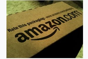 Photo of an Amazon box - Amazon offers a wide selection of Paleo non-perishable goods for those looking to buy Paleo. Given the vast array of Paleo products available, they are a sort of hidden secret as a viable Paleo webshop