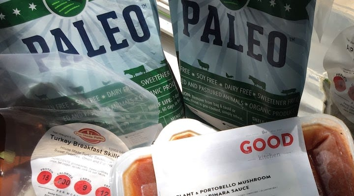 Photo of several organic Paleo meal delivery service packages I had personally ordered from. For those looking for organic meals delivered to your door you are in luck.