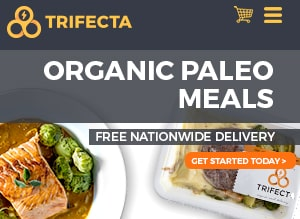 Trifecta offers organic paleo food delivery nationwide.