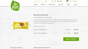 Screenshot of the Freeland Foods homepage - With many paleo coconut flour banana bread choices available from companies like Freeland Foods For those seeking coconut flour bread products, we have you covered. Whether you are SCD, gluten free or Paleo or just watching what you eat, there are now banana bread made with coconut flour offerings from companies like Freeland Foods .