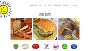 Screenshot of the California Country Gal homepage - Finding best grain free bread products used to be a challenge, but its become easier. Finding grain free bread whole foods products used to be a challenge, but its become easier. California Country Gal tends to offer at least one non grain bread option.