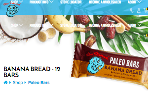Screenshot of the Blue Dinosaur homepage - With their Blue Dinosaur Paleo Bars offerings, Blue Dinosaur is a swell member of the Paleo and clean eating community. paleo bars target options can be few and far between; read on for examples from Blue Dinosaur and other firms. We like to showcase firms like Blue Dinosaur that offer Paleo eaters and others paleo bars wholesale options.